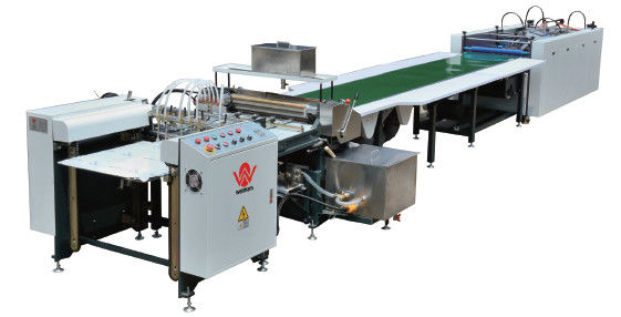 Semi - Automatic Hardcover Book Case Making Machine
